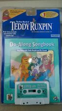 NEW 1998 YES! ENT. TEDDY RUXPIN, DO-ALONG SONGBOOK, BOOK & CASSETTE TAPE