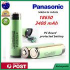 Panasonic NCR 18650 B 3400mAh Lithium Li-Ion Protected Rechargeable Battery
