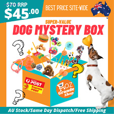 NEW Mystery Box Set Of Dog Pet Toys Party Bestie Top Quality Random Accessories