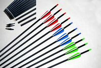 """*30"""" Mix carbon arrows archery hunting arrow for Compound/recurve bow with point"""