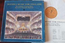 La música de Haydn Haydn para Inglaterra 2-LP aoam Hogwood Folio sociedad FS 1005/6 casi como nuevo
