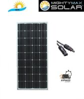 Mighty Max 100 Watt 12 Volt Monocrystalline Off Grid Solar Panel