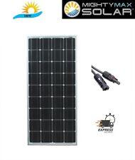 Mighty Max 100 Watt 12 Volt Monocrystalline Off Grid Solar Panel