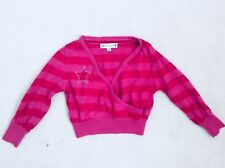 Baby Girl Pink Mix Stripped Wrapped Knitwear Age 12-18 months from M&S