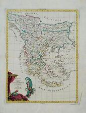 TURCHIA D'EUROPA - BOSNIA ALBANIA GRECIA - A.Zatta, Pitteri, Zuliani 1799