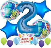 Monsters University Party Supplies Balloon Decoration Bundle for 2nd Birthday