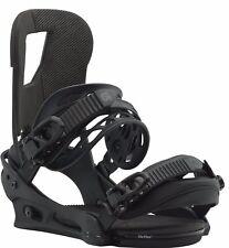 Burton Cartel Snowboard Bindings Black Matte Medium 10539104004M