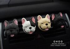 Smile French Bulldog  Car Vent clip, car air freshener, Car accessories,
