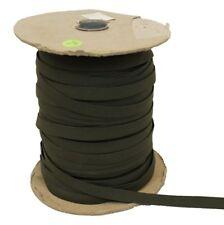 1/2 Inch Elastic Webbing OD Green 150 Yard Roll