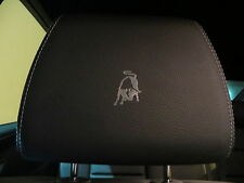 (4pcs) Headrest badge sticker decal LAMBORGHINI *LOGO*