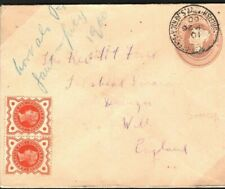 GB Used S.Africa BOER WAR Cover 1d Pink Wilts Tilshead SCARCE USAGE 1900 40a.11