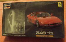 Hasegawa 1/24 Ferrari 348 ts Kit #20231 Comes W/Photo-Etched Detail Parts Mint