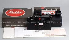 New Leica M6 0.72 LHSA 1968~1988 20th Anniversary Edition camera in black