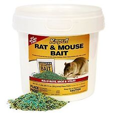 Kaput Rat Mouse Vole Bait Packs 150ct- Warfarin