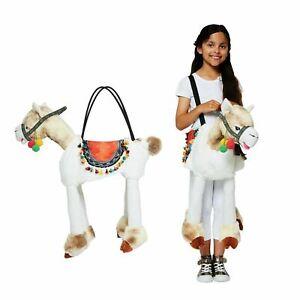 Plush Soft Llama Ride on dress up Costume Decorative Colorful   3-8 Years NEW