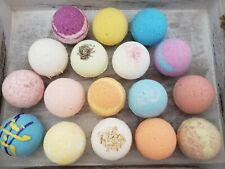 12 Bath bombs gift set 4.5 oz Fizzy Fizzies You Choose Handmade Kid friendly