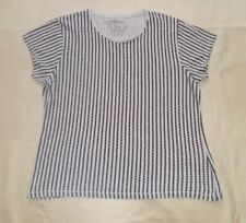 Atmosphere Grey and Black Triangle Print T-Shirt Size 18