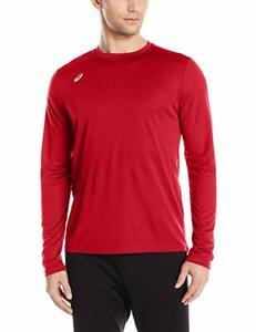 ASICS Men's Circuit 8 Warm-Up Long Sleeve Top, Color Options