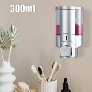 600 ml Kunststoff Wandmontage Conditioner Duschgel Kammer Spender Seifenpumpe f/ür Bad oder K/üche GreeSuit Automatischer Seifenspender