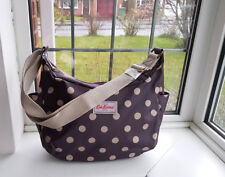 Cath Kidston Everyday Bag Button Spot Plum - Brand New