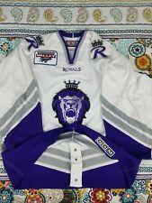 Reading Royals CCM ECHL Minor League Authentic Hockey Jersey sz 52 Fight Strap