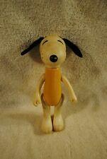 "Vintage Snoopy 1966 Plastic United Syndicate Knickerbocker Toy 8"""