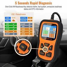 Automotive OBDII Code Reader OBD2 Scanner I/M Check Engine Fault Diagnostic Tool