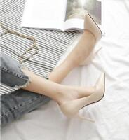 Women's Pointed Toe Pumps Patent Leather Dress Shoes High Heels Wedding Shoes