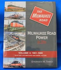 MORNING SUN BOOKS 1535 - MILWAUKEE ROAD POWER In Color Vol. 3 - HC 128 Pages