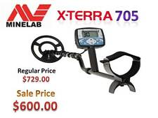 MINELAB XTERRA 705 METAL DETECTOR GREAT ALL PURPOSE DETECTOR & FREE SHIPPING
