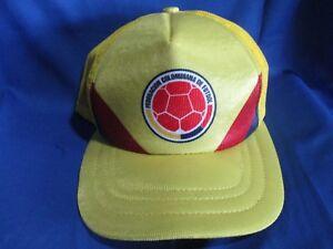 seleccion colombia yellow gorra cap mesh