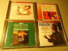 Philips 4 CD Classical Lot Bach ZAMFIR Rodrigo HVOROSTOVSKY