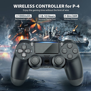 Wireless Bluetooth Controller for Sony PlayStation 4 & PC Dual Shock Joystick