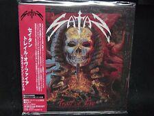 SATAN Trail Of Fire - Live In North America JAPAN Mini LP CD Blitzkrieg Pariah