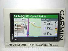 Garmin DriveSmart 65 Premium GPS Navigator with Built-in Amazon Alexa & Traffic