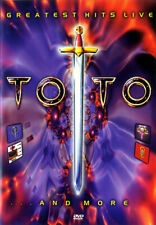 TOTO GREATEST HITS LIVE... AND MORE DVD BRAND NEW SEALED FREE SHIPPING