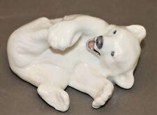 Royal Copenhagen Polar Bear Cub Figurine 729 - Thames Hospice
