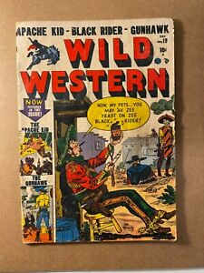 Wild Western #19 Golden Age Western! I combine Shipping!