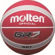 MOLTEN Basket GR 7 ufficiale in preda ROSSO GRIGIO TAGLIA 7