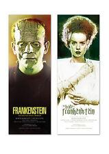The Bride of FRANKENSTEIN Universal monsters poster Art prints movie horror film
