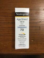 Neutrogena Age Shield Face Lotion Sunscreen SPF70 3 Oz Bottle Exp 04/2019