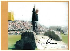 Arnold Palmer GOLFER 8x10 AUTOGRAPHED PHOTO SIGNED BRITISH OPEN FARWELL JSA AUTH