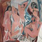 "36W""x36H DEMOISELLES D'AVIGNON by PABLO PICASSO Subject: Nudes CHOICES of CANVAS"