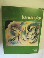 Kandinsky :Oeuvres de Vassily Kandinsky (1866-1944) /Centre Pompidou 1984