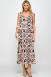 long sleeveless tank dress