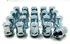 20 x ALLOY WHEELS NUTS FOR VOLVO V50 M12 x 1.5 19MM HEX LUGS BOLTS STUDS [4]
