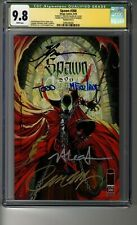 Spawn # 300 - Cover G (Campbell) - CGC 9.8 WHITE Pages - SS5X Todd McFarlane