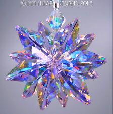 m/w Swarovski Crystal Rare Limited AB Violet SunCatcher Star Lilli Heart Designs