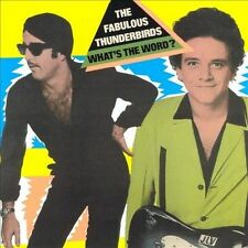 What's the Word [Remaster] by The Fabulous Thunderbirds (CD, Feb-2001,...
