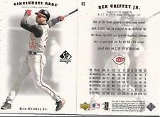 2002 KEN GRIFFEY JR UPPER DECK  SP AUTHENTIC #85 , MINT LOT OF 5 CARDS !!